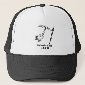 Contractors Like to Nail It Trucker Hat