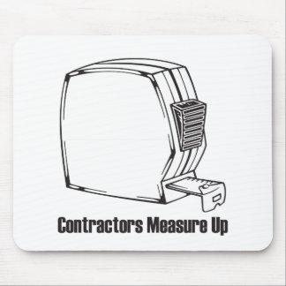 Contractors Measure Up Mouse Pad