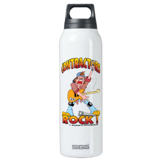Contractors Rock Aluminum SIGG Thermo 0.5L Insulated Bottle