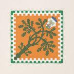 """Contrada della Selva (Forest) Palio di Siena Scarf<br><div class=""""desc"""">Contrada della Selva (Forest) Palio di Siena flag banner</div>"""