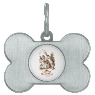 Contradanza de la langosta (humor del país de las placas de mascota