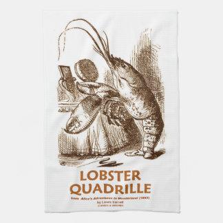 Contradanza de la langosta (humor del país de las toallas de cocina