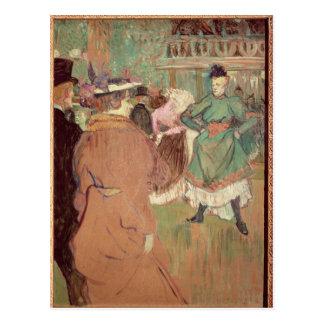 Contradanza en el colorete, 1892 postales