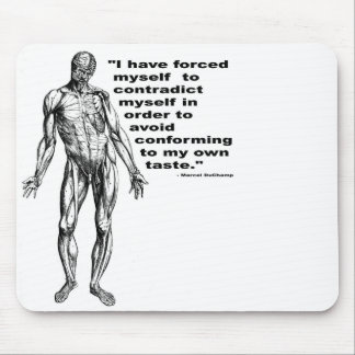 Contradict Myself Mouse Pad