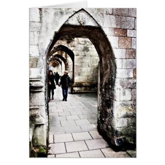 Contrafuertes de la catedral de Winchester Felicitacion