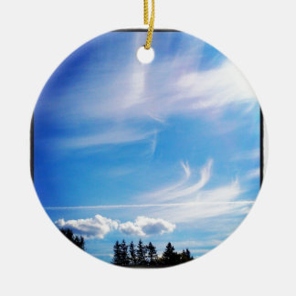 Contrail_ Christmas Ornament