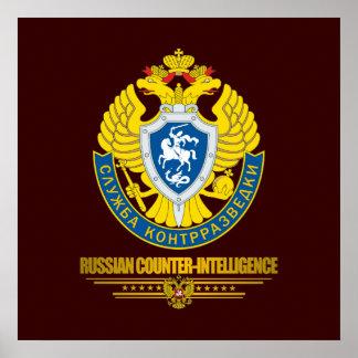 Contrainteligencia rusa póster