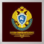 Contrainteligencia rusa posters