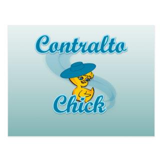 Contralto  Chick #3 Postcard