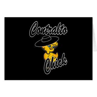 Contralto Chick #4 Card