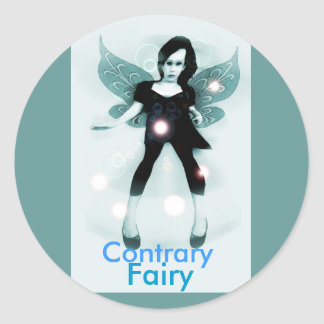 Contrary Fairy Stickers
