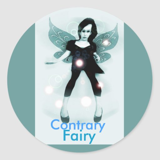 Contrary, Fairy Stickers