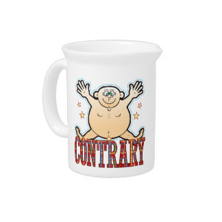 Contrary Fat Man Beverage Pitcher