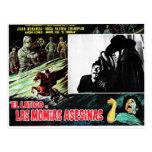 Contras Las Momias Asesinas del EL Latigo Tarjetas Postales