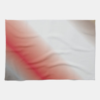 Contrast Abstract Art Kitchen Towel