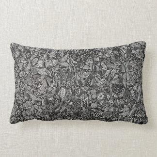 Contrast American MoJo Pillow