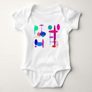 Contrast and Harmony Baby Bodysuit