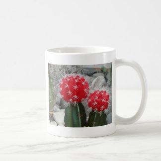 Contrast cactus coffee mug