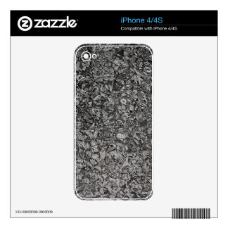 Contrast Electronics Skins iPhone 4 Decals