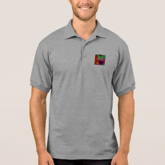 Contrast Expression Polo Shirt