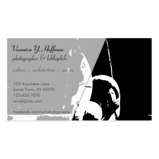 Contrast Fountain Business Cards