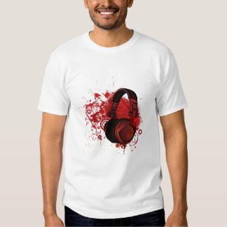 Contrast Stitch T-Shirt Black/Light Grey CTN MUSIC