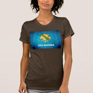 Contraste colorido OklahomanFlag Poleras