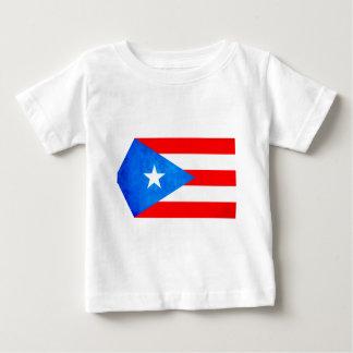 Contraste colorido Puerto RicanFlag T Shirts