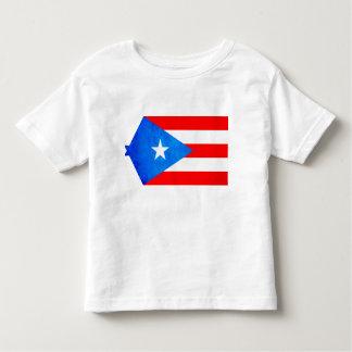 Contraste colorido Puerto RicanFlag T-shirt