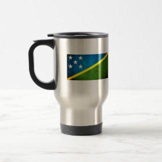 Contraste colorido Solomon IslanderFlag Tazas