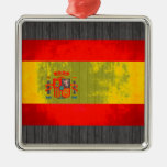 Contraste colorido SpanishFlag Adornos De Navidad