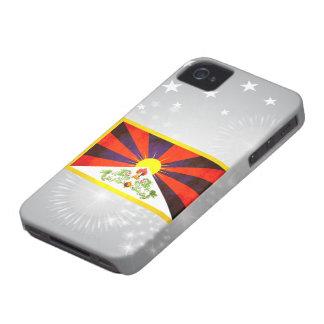 Contraste colorido TibeteseFlag