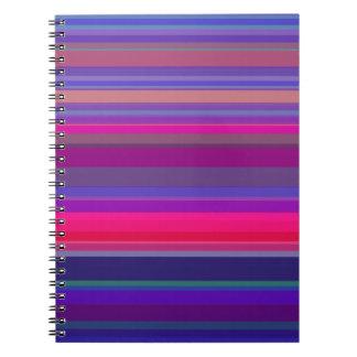 Contraste de las rayas de la gradación cuaderno