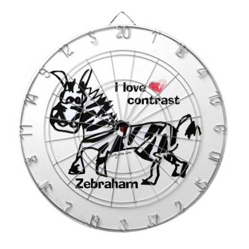 Contraste del amor de Zebraham- I