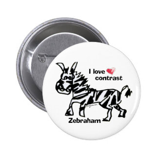 Contraste del amor de Zebraham- I Pin