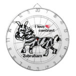Contraste del amor de Zebraham- I Tablero Dardos