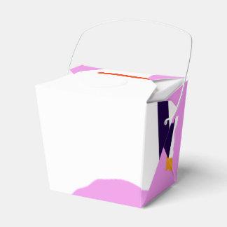 Contraste primitivo caja para regalo de boda