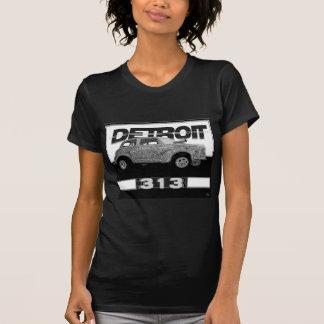 Contraste wow del coche de Detroit Dragster del al Camisetas
