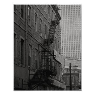 Contrastes reales de la calle fotografía
