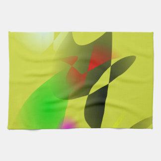 Contrasting Colors Kitchen Towel