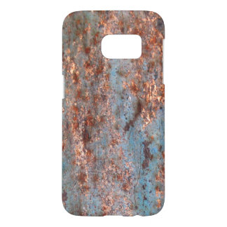 Contrasting Rusted Industrial Metal Samsung Galaxy S7 Case