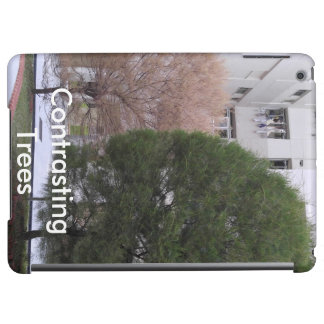 Contrasting Trees iPad Air Case
