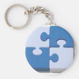 ContrastingPuzzle101310 Llavero Redondo Tipo Pin