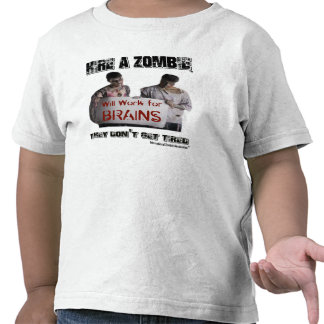 Contrate a un zombi camisetas
