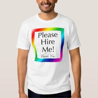 """""""Contráteme por favor!"""" - Una camisa para los"""
