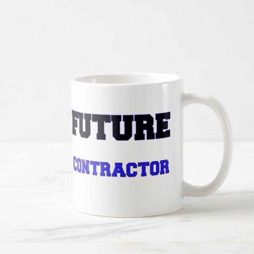 Contratista futuro taza