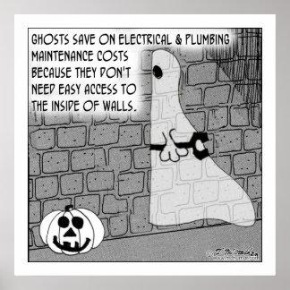Contratistas del fantasma de fácil acceso póster