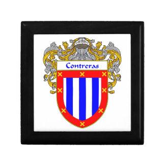 Contreras Coat of Arms/Family Crest Keepsake Box