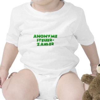 Contribuyentes anónimos traje de bebé