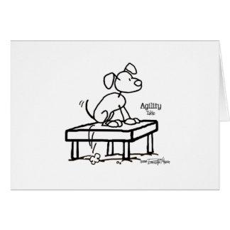 Control Agility dog - Pause Table - agility Card